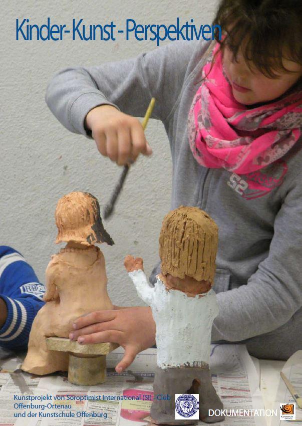 Titelseite Projektdokumentation Kinder-Kunst-Perspektiven 2013
